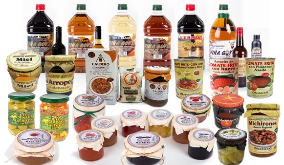 Productos Artesanos Gourmet. Alimentación y Bebidas