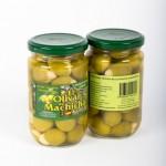 CD.39.Aceituna  Rellena de Almendras. El olivar de Machicha. 315gr.