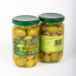CD.78.Aceituna Deshuesada Sabor Anchoa. El olivar de Machicha. 315g.