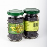 CD.88.Aceituna Negra Entera Cuquillo Seca. El olivar de Machicha. 315gr.