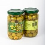 CD.94.Aceituna Rellena de Pimiento. El olivar de Machicha. 315g.
