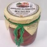 CD. Pimientos rojos y verdes asados a la leñaMachicha 250g