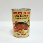 CD.401.Tomate Frito con Huevo.Machicha. 420grs.